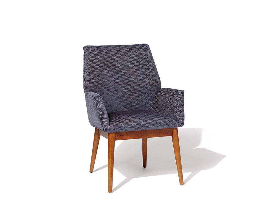 Modern Folded Upholstered Chair