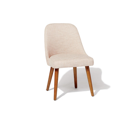 Mid-Century Upholstered Guest Chair