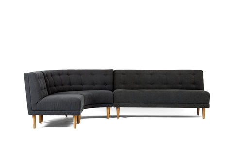 Rounded Retro Sectional