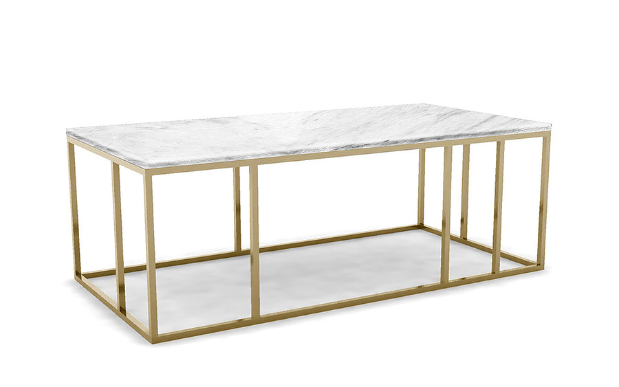 Grid Frame Coffee Table
