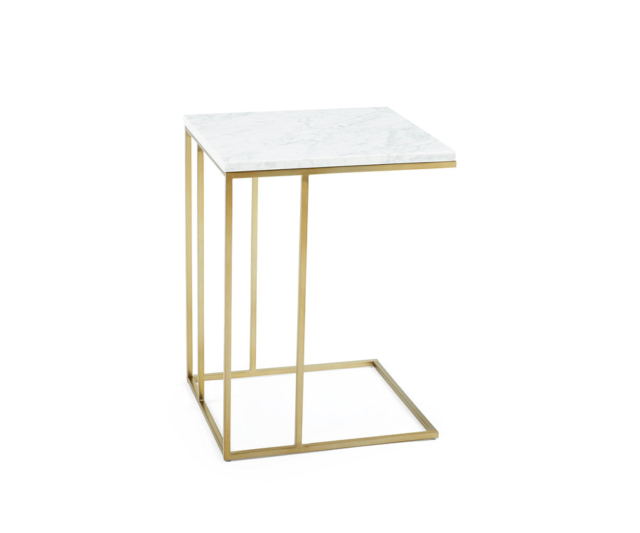 Grid Frame Side Table