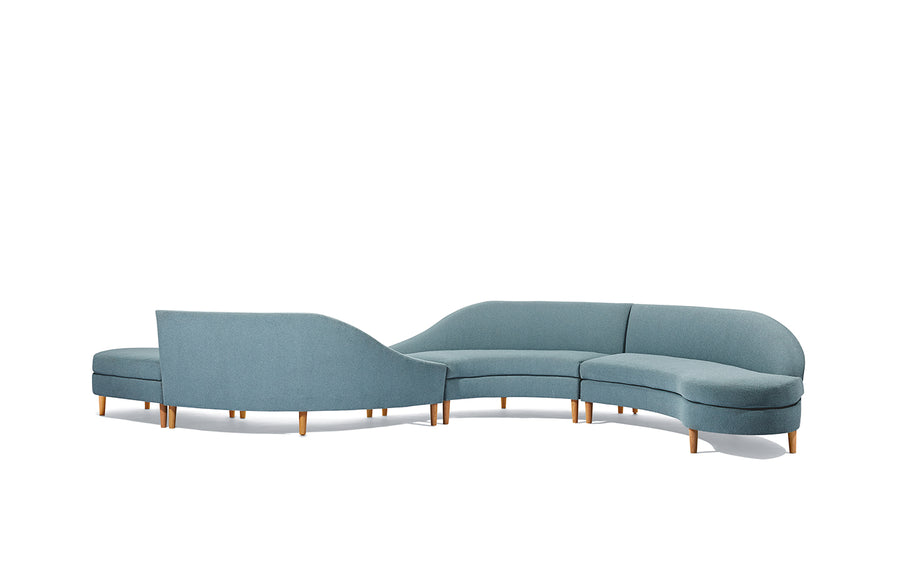 Heyward Curved Sectional