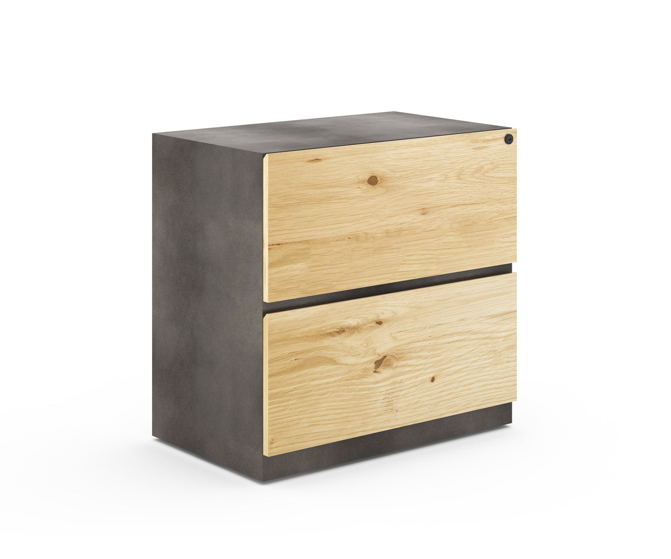 Industrial Metal Two Drawer Lateral File: TEMPORARILY UNAVAILABLE