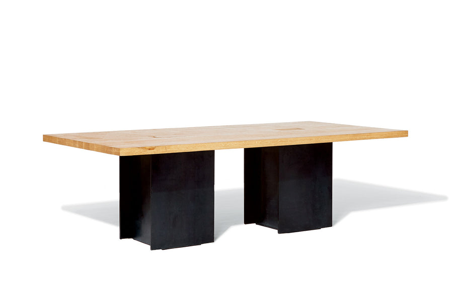 Industrial Power Pedestal Meeting Table