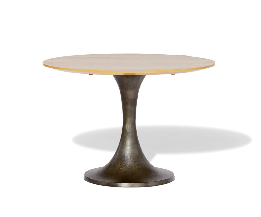 Industrial Round Meeting Table West Elm Workspace