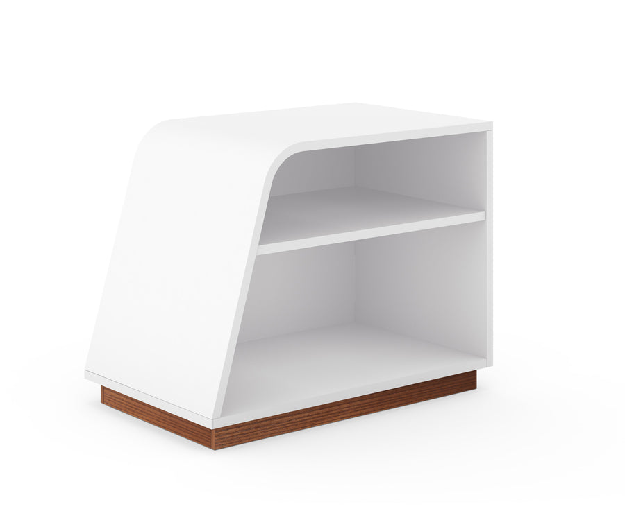 Modern Curved Bookcase