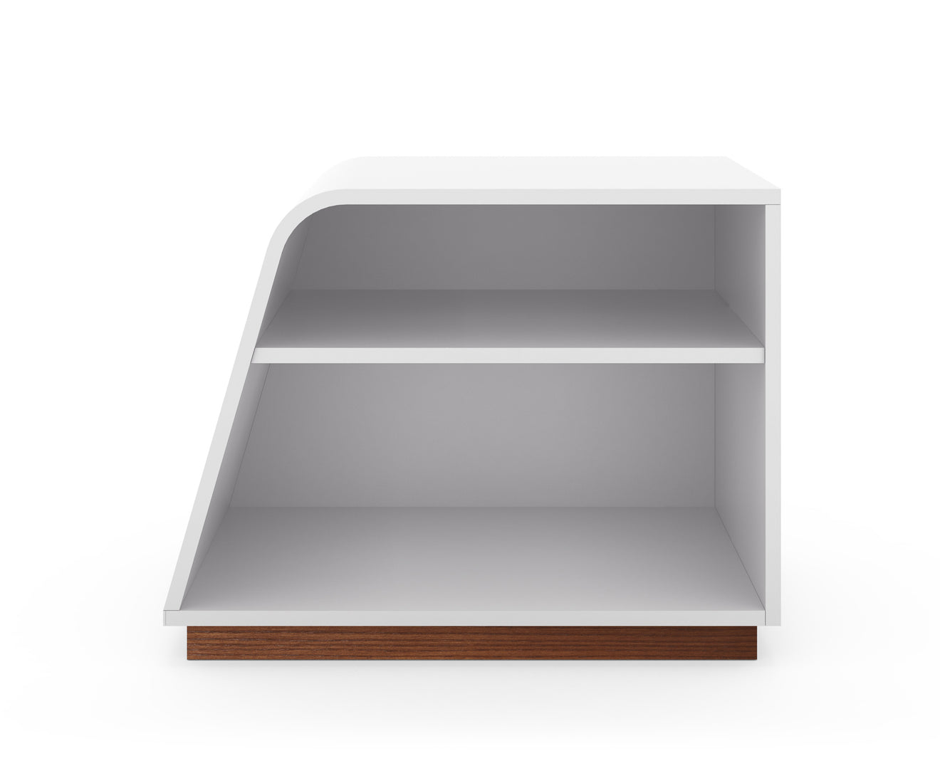 shelving bookcase curved bookcases fabrications dva melamine beech product
