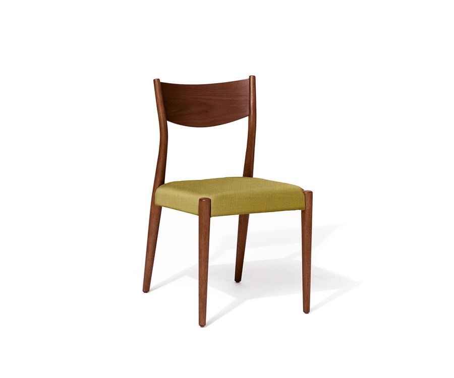 Shaped Wood Guest Chair