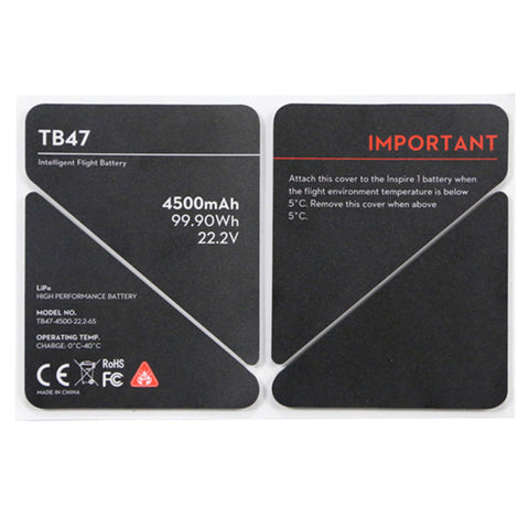 DJI Inspire 1 - Spare Part 50 - TB47 Insulation Sticker
