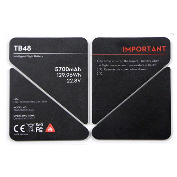 DJI Inspire 1 - Spare Part 51 - TB48 Insulation Sticker