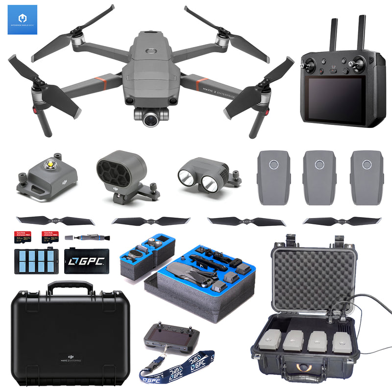 DJI Mavic 2 Enterprise w/Smart Controller QuickTac Bundle