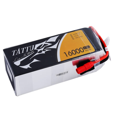 Tattu 16000mAh 6S1P 15C Battery w/AS150+XT150 Connectors