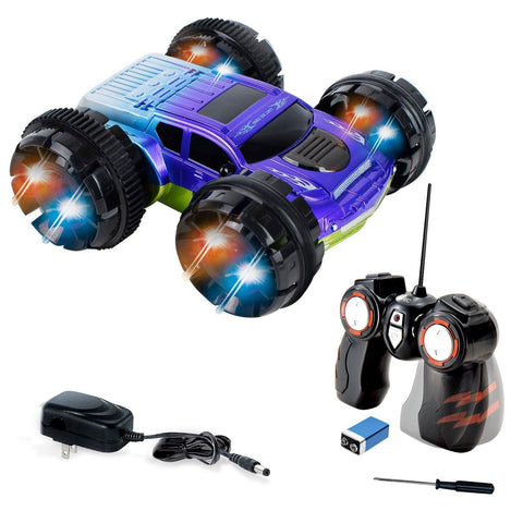 KidiRace RC 360 Stunt Car - Blue