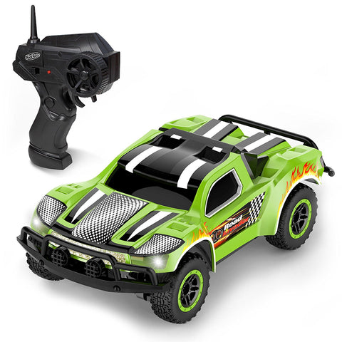 Kidirace Remote Control Car - Mini Racing Coupe with Rechargeable Battery and Wall Charger