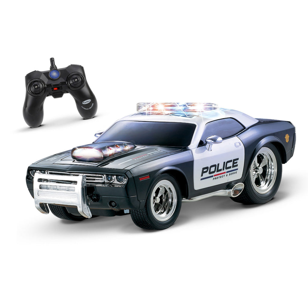 Kidirace RC Police Car