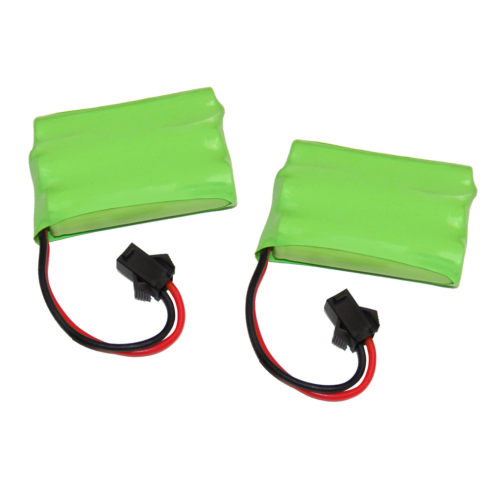 Set of 2 Spare Replacement Rechargeable Battery for KidiRace Bumper Cars Set