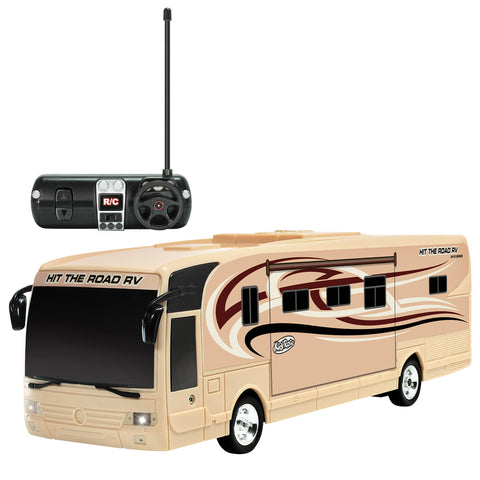 Kidirace Remote Control RV with Beaming Lights, Rechargeable Battery – High-Speed RC Cars for Boys and Girls