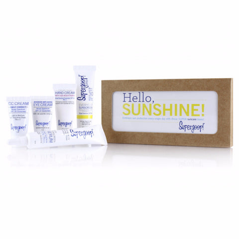 Hello, Sunshine! Suncare Starter Set - Square One Source