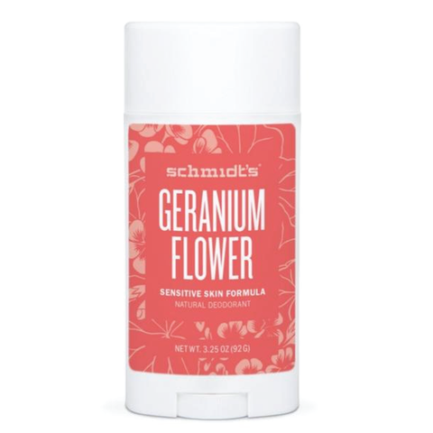 Geranium Flower Sensitive Skin Deodorant - Square One Source