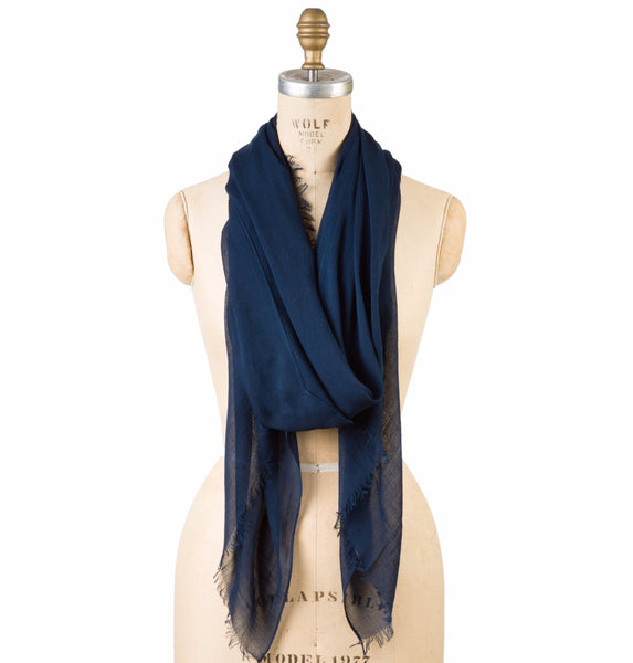 Silk Modal - Navy - Square One Source