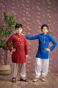 Red Kurta for 1-4 year's Old