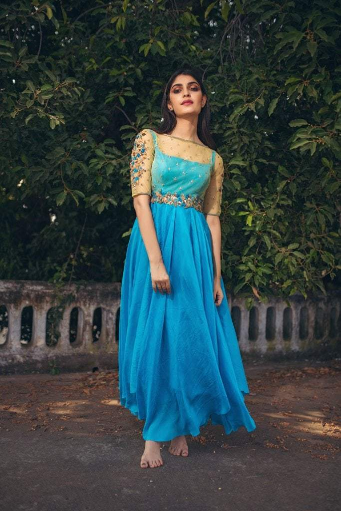 IS-CU-43 Persian Blue Dress