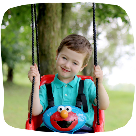 Toddler Swings Sesame Street Elmo