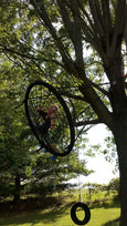 "Web Riderz 46"" Web Swing® Hanging in Tree"