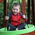 Air Riderz Saucer Swing - Green Lifestyle
