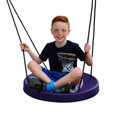 Air Riderz Saucer Swing - Purple with Boy Rider