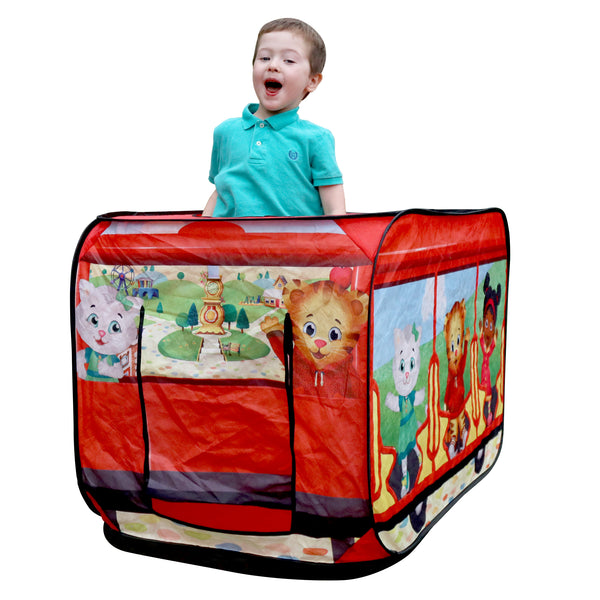 Daniel Tiger's Trolley Pop-up Tent with Child