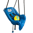 Dinosaur Toddler Swing Bucket Side