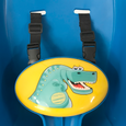 Dinosaur Toddler Swing Straps Detail
