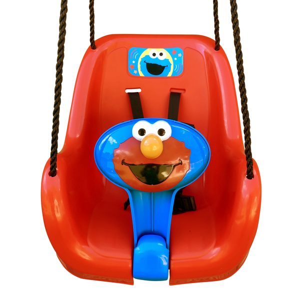 Sesame Street Elmo Toddler Swing Bucket Front