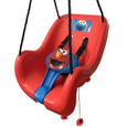Sesame Street Elmo Toddler Swing Bucket Left