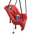 Sesame Street Elmo Toddler Swing Bucket Side