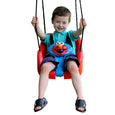 Sesame Street Elmo Toddler Swing Rider Front View