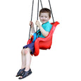 Sesame Street Elmo Toddler Swing Rider Side View