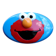 Sesame Street Elmo Toddler Swing Face Plate Detail
