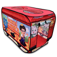 Daniel Tiger's Trolley Pop-up Tent right panel side view