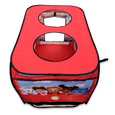 Daniel Tiger's Trolley Pop-up Tent Top View