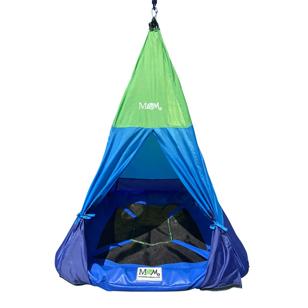 Outdoor Teepee Tent  Swing Front View