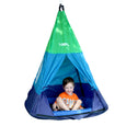 Outdoor Teepee Tent Swing with Rider