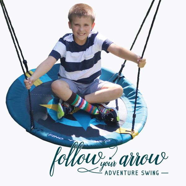 Follow Your Arrow Adventure Swing - Find Your Wild.