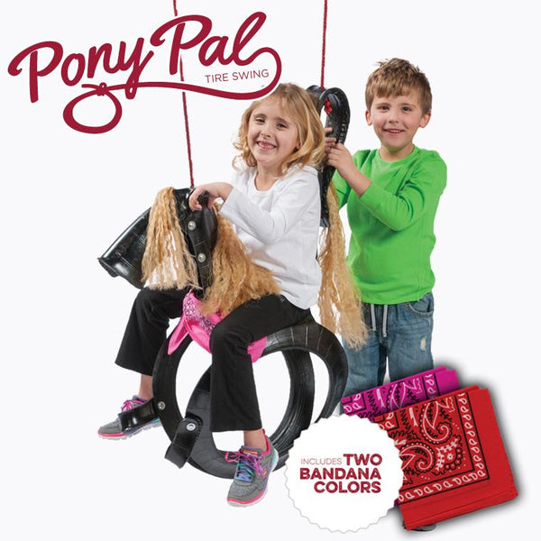 Pony Pal Tire Swing Detail Photo