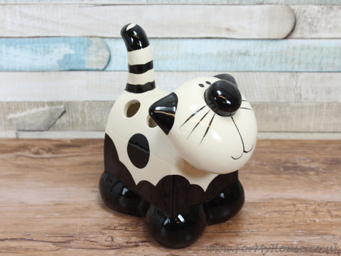 2Kewt Novelty cat toothbrush/pen holder B11056