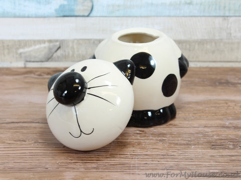 2Kewt Novelty cat Sugar canister