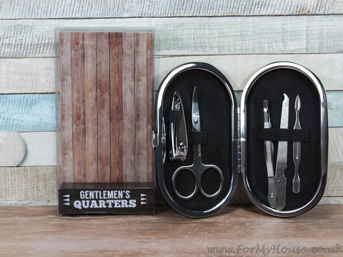 Gentlemen's quarters manicure set