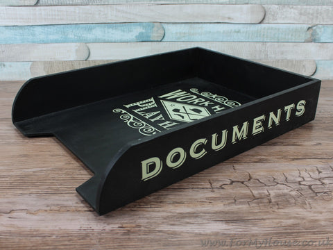 The dapper chap documents/paper tray