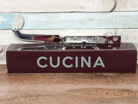 Cucina Stainless steel Cheese cutter with cheese shaped handle